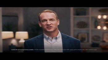 DIRECTV 4K HDR TV Spot, 'So Vivid' Featuring Peyton Manning - Thumbnail 1