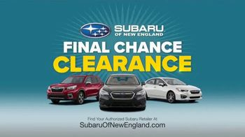 Subaru Final Chance Clearance TV Spot, 'Don't Miss Your Final Chance' [T2] - Thumbnail 6