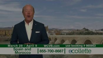 Collette Vacations TV Spot, 'WCVB: Spain and Morocco' - Thumbnail 1