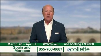 Collette Vacations TV Spot, 'WCVB: Spain and Morocco' - Thumbnail 10