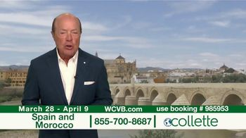 Collette Vacations TV Spot, 'WCVB: Spain and Morocco' - Thumbnail 2