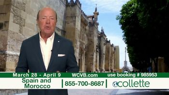 Collette Vacations TV Spot, 'WCVB: Spain and Morocco' - Thumbnail 3