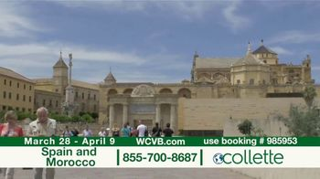 Collette Vacations TV Spot, 'WCVB: Spain and Morocco' - Thumbnail 5