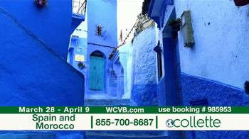 Collette Vacations TV Spot, 'WCVB: Spain and Morocco' - Thumbnail 6