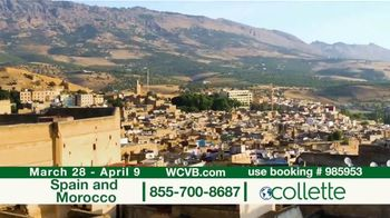 Collette Vacations TV Spot, 'WCVB: Spain and Morocco' - Thumbnail 7
