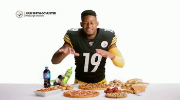 Pizza Hut TV Spot, 'JuJu Knows: $5 'N Up Lineup for Gameday' Featuring Juju Smith-Schuster - 2056 commercial airings