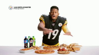 Pizza Hut TV Spot, 'JuJu Knows: $5 'N Up Lineup for Gameday' Featuring Juju Smith-Schuster - Thumbnail 2