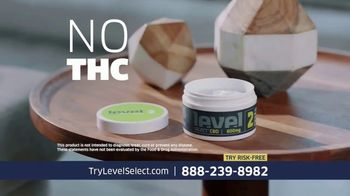 Level Select CBD TV Spot, 'Three Levels' Ft. Carson Palmer, Ann Meyers Drysdale and Steve Garvey - Thumbnail 4