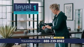 Level Select CBD TV Spot, 'Three Levels' Ft. Carson Palmer, Ann Meyers Drysdale and Steve Garvey - Thumbnail 5