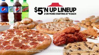 Pizza Hut TV Spot, 'Juju Eats Hot Wings' Featuring JuJu Smith-Schuster - Thumbnail 9