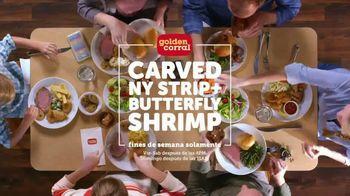 Golden Corral Carved NY Strip + Butterfly Shrimp TV Spot, 'Neoyorquino' [Spanish] - Thumbnail 7