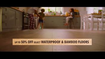 Lumber Liquidators TV Spot, 'Transform Your Home With the Experts: Waterproof, Bamboo and Hardwood' - Thumbnail 2