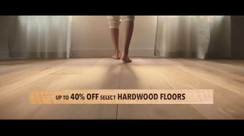 Lumber Liquidators TV Spot, 'Transform Your Home With the Experts: Waterproof, Bamboo and Hardwood' - Thumbnail 3