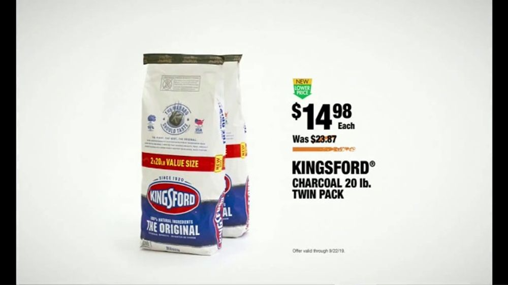 The Home Depot Tv Commercial College Gameday Kingsford