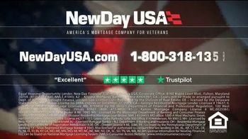 NewDay USA VA Cash Out Loan TV Spot, 'Fantastic News: Lower Payments by $600' - Thumbnail 8
