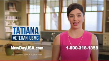 NewDay USA VA Cash Out Loan TV Spot, 'Fantastic News: Lower Payments by $600' - Thumbnail 2