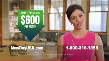 NewDay USA VA Cash Out Loan TV Spot, 'Fantastic News: Lower Payments by $600' - Thumbnail 6