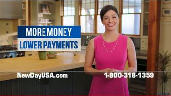 NewDay USA VA Cash Out Loan TV Spot, 'Fantastic News: Lower Payments by $600' - Thumbnail 7