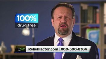 Relief Factor 3-Week Quickstart TV Spot, 'Sandra's Review' Featuring Dr. Sebastian Gorka