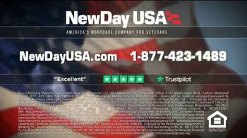 NewDay USA VA Cash Out Loan TV Spot, 'More Money, Lower Payments' - Thumbnail 8
