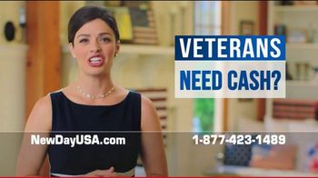 NewDay USA VA Cash Out Loan TV Spot, 'More Money, Lower Payments' - Thumbnail 7