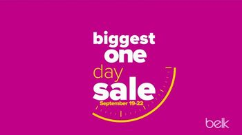 Belk Biggest One Day Sale TV Spot, 'Four Day Doorbusters' - Thumbnail 2