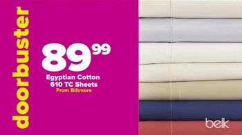 Belk Biggest One Day Sale TV Spot, 'Scratch and Save: Shoes and Sheets' - Thumbnail 5