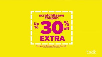 Belk Biggest One Day Sale TV Spot, 'Scratch and Save: Shoes and Sheets' - Thumbnail 6