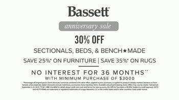 Bassett Anniversary Sale TV Spot, 'Fit Your Style: 35 Percent' - Thumbnail 9