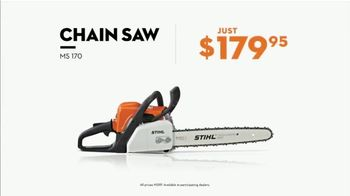 STIHL TV Spot, 'Real Stihl: MS 250 Chainsaw' - Thumbnail 7