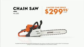 STIHL TV Spot, 'Real Stihl: MS 250 Chainsaw' - Thumbnail 9