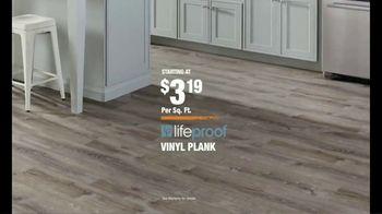 The Home Depot TV Spot, 'Unexpected: LifeProof Vinyl Plank Flooring' - Thumbnail 10