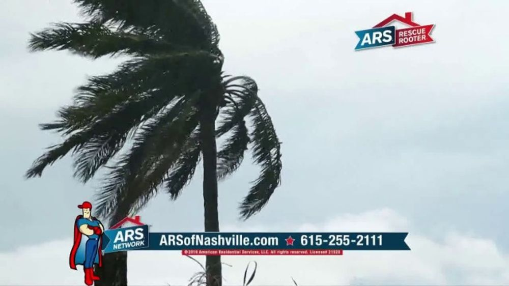 ARS Rescue Rooter TV Commercial, 'Severe Weather: $19 Tune-Up'