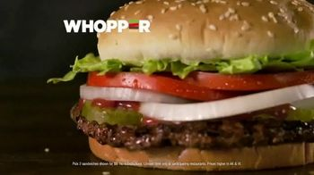 Burger King 2 for $6 Mix or Match TV Spot, 'Flame Grilled Whopper and Chicken' - Thumbnail 6