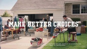 Yahoo! Sports Daily Fantasy TV Spot, 'Make Better Choices: Play for Free' - Thumbnail 6