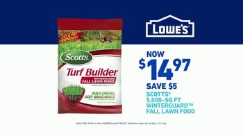 Lowe's TV Spot, 'All Season Long: Scotts Lawn Food' - Thumbnail 9