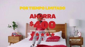 Mattress Firm Venta Semi-Annual TV Spot, 'Ahorra $400 dólares' [Spanish] - Thumbnail 2