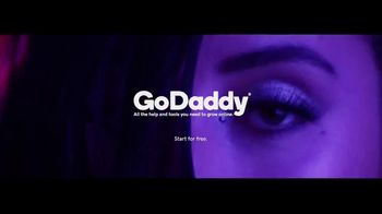 GoDaddy TV Spot, 'Consideration Unlimited Design' Song by Onders - Thumbnail 7