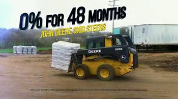 4Rivers Equipment Fall Special TV Spot, '0% for 48 Months: John Deere Compact Construction' - Thumbnail 6
