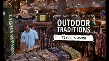 Bass Pro Shops Outdoor Tradition Sale TV Spot, 'The Perfect Time'