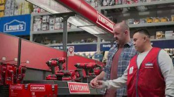 Lowe's Craftsman Days TV Spot, 'Handyman: Drill Kit' - Thumbnail 1