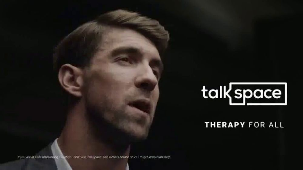 Talkspace TV Commercial, 'Change Your Life: Save $65' Featuring Michael Phelps