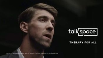 Talkspace TV Spot, 'Change Your Life: Save $65' Featuring Michael Phelps - 446 commercial airings