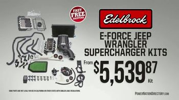 PowerNation Directory TV Spot, 'Supercharger Kits, Michelin Tires, Engines'