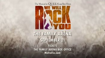 We Will Rock You Musical TV Spot, '2019 St. Louis: The Family Arena' - Thumbnail 10