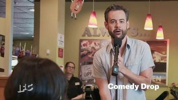 Denny's TV Spot, 'IFC: Comedy Drop' Featuring Kevin McCaffrey - 12 commercial airings
