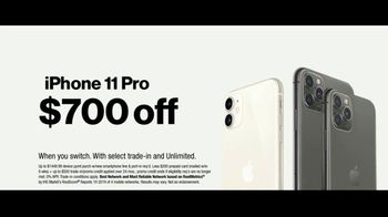 Verizon TV Spot, 'iPhone 11: Up to $700 Off + Apple Music' - Thumbnail 6