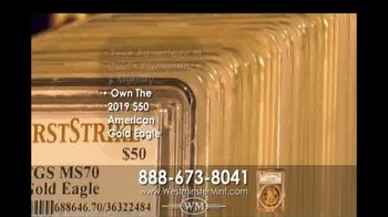 Westminster Mint 2019 $50 American Gold Eagle Coin TV Spot, 'Investment Potential' - Thumbnail 7