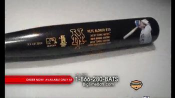 Big Time Bats TV Spot, 'Pete Alonso Mets Single Season Home Run Record Art Bat' - Thumbnail 2