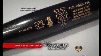 Big Time Bats TV Spot, 'Pete Alonso Mets Single Season Home Run Record Art Bat' - Thumbnail 6